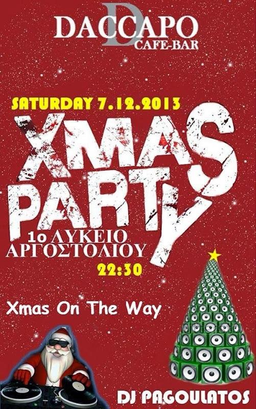 Πάρτι από το 1ο Λύκειο Αργοστολίου στο Daccapo (7.12.2013)