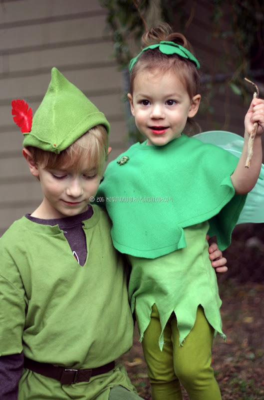 DIY Peter Pan   Tinkerbelle Costume 073