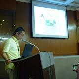 写真1BRCで発表する石川氏 / Photo1 Mr. Ishikawa at BRC