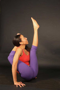 Chakorasana: Chakor is a mythical bird that drinks the moonlight