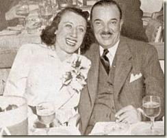 Marcel Jamet et sa femme Fabienne