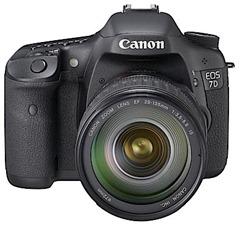 Canon EOS 7D frontal