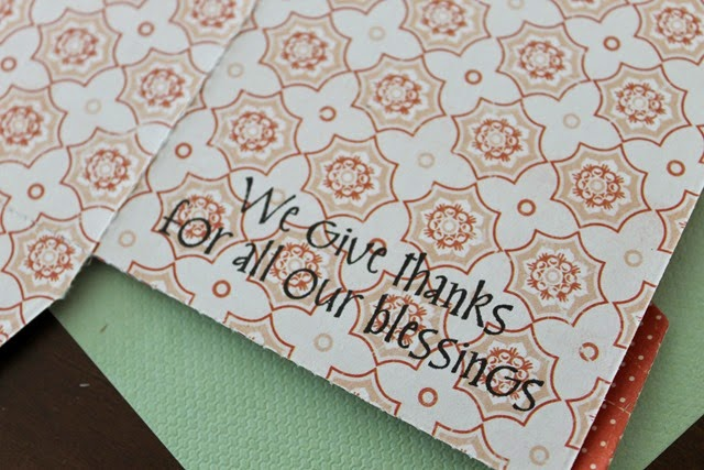 thankful stamp