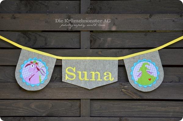 Drachenwimpelkette Suna