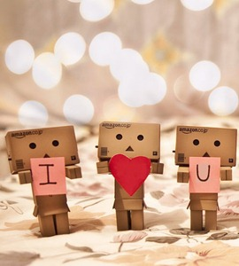 Boneka Danbo Cinta I Love You