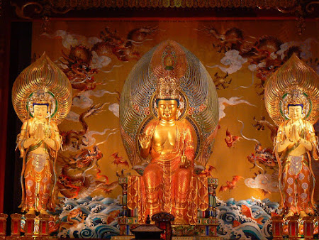 Singapore: Buddhist temple