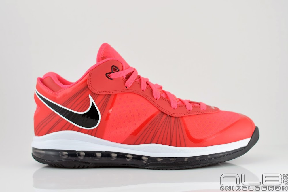 lebron 8 low red - photo #13