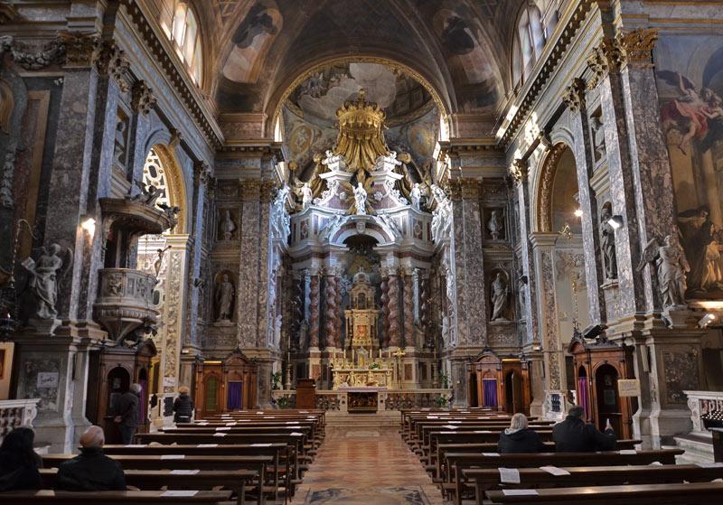 Chiesa s maria degli Scalzi 1