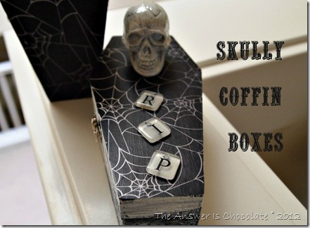 Skully Coffin Boxes