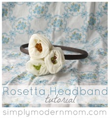 Rosetta Headband by Simply Modern Mom