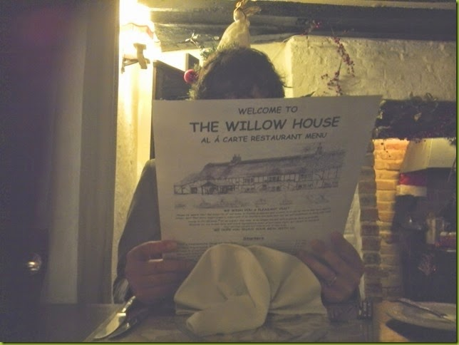 The Willow House restaurant Watton