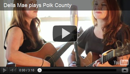 "Della Mae's ""Polk County"" Makes the Approved List of Auditory Therapy for Next Week!"