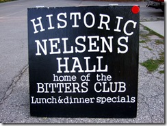 Washington Island Nelsens sign