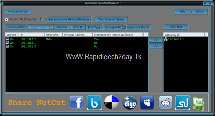 Download netcut 2.1.1 Full