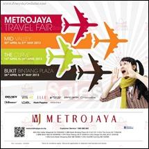 Metrojaya Travel Fair 2013 Latest Malaysia Discounts All Shopping EverydayOnSales
