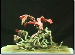 Godzilla vs Biollante Concept Model 02