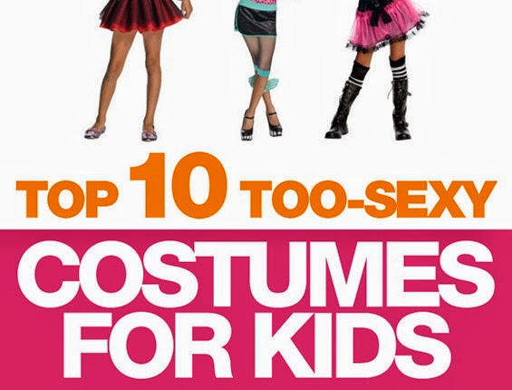 Sexy costumes for little girls: a Halloween hall of shame