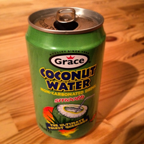 #82 - coconut water to rehydrate post-gym