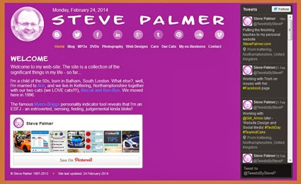 Website relaunch February 2014
