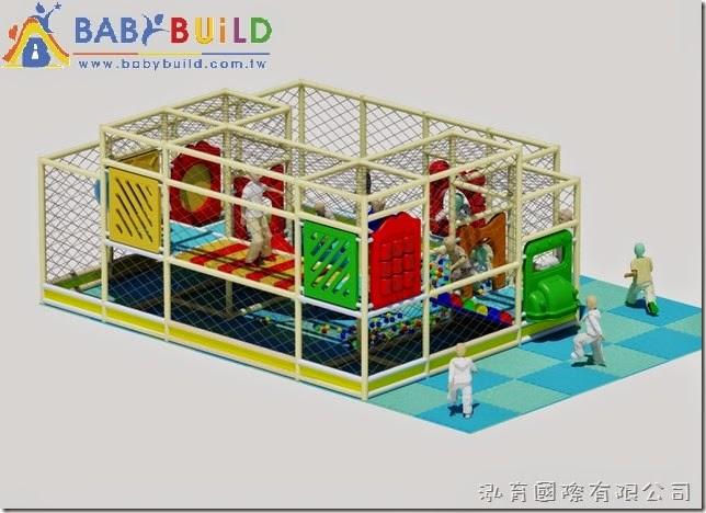 BabyBuild 室內3D泡管遊具規劃