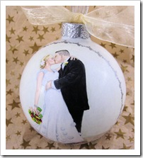 Beautiful Moment Ornament - right side