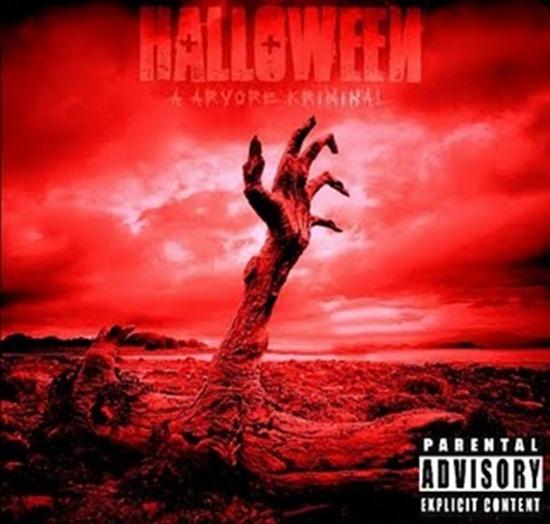 arvore kriminal halloween