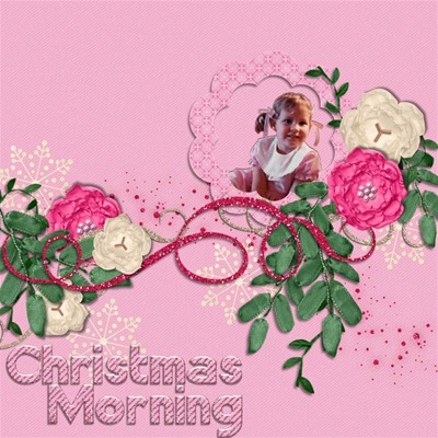 Mommy Me Time Scrapper - Innocence - Christmas Morning
