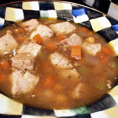 Garbanzo and Green Chile Stew