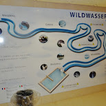 wildwasserrutsche at the olympia pool in Seefeld, Tirol, Austria