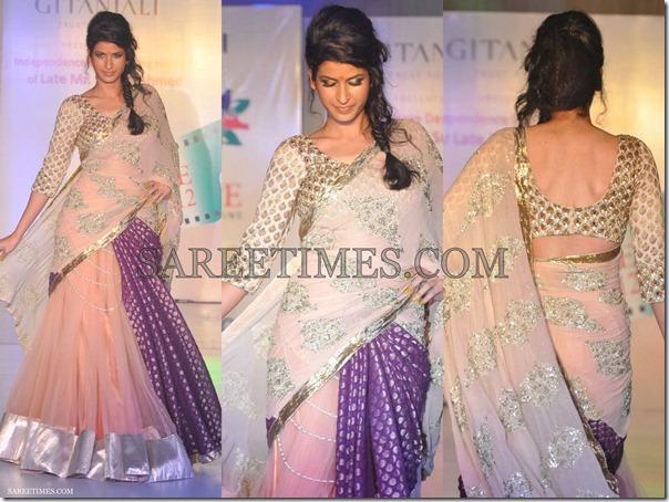 Manali_Jagtap_Pink_Emboidery_Saree