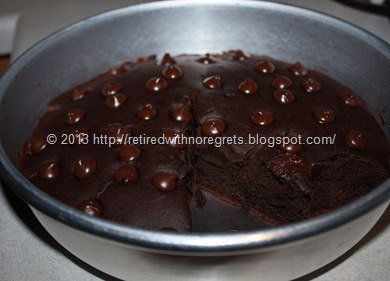 Gluten-Free Chai Crazy Chocolate Cake