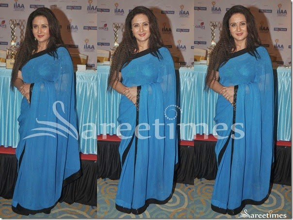 Poonam_Dhillon_Blue_Embroidery_Saree(1)