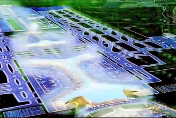Aeropuerto en Texcoco el nuevo objetivo de EPN