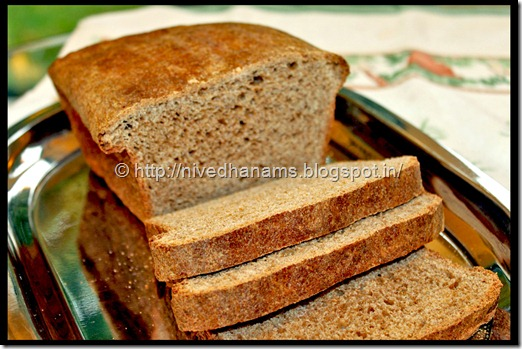 Whole Wheat Honey Buttermilk Bread - IMG_3594