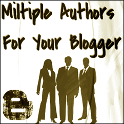 miltiple Authors For blogger