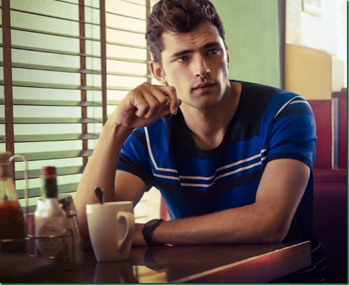 Sean O'Pry for H&M S/S 14 – Casual Sunday