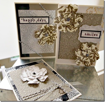 Core'dinated Damask Cards