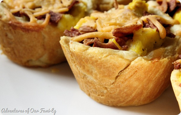 scrambled eggs breakfast cups recipes