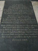 Jane\'s Memorial Plaque, Winchester Cathedral