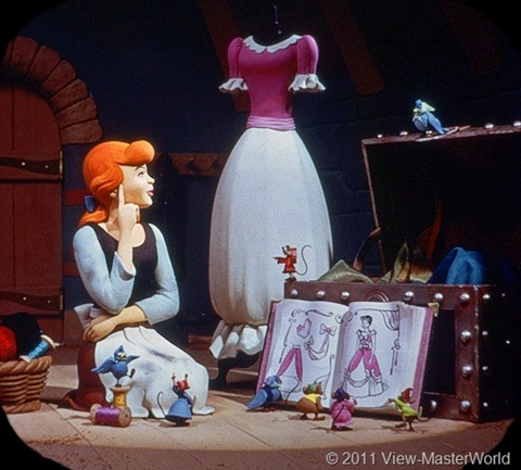 View-Master Walt Disneys Cinderella (B318), Scene 3