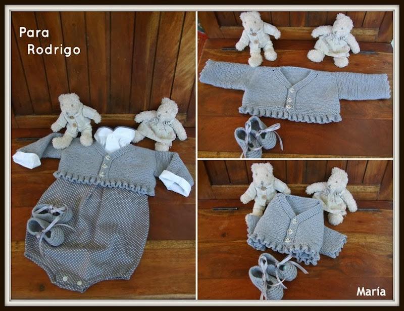 Chaqueta gris de algodón