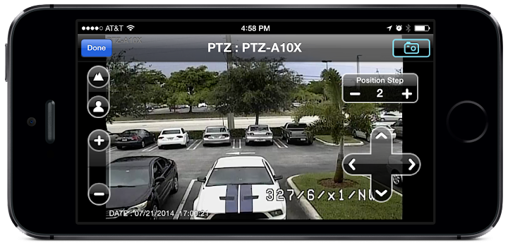 how to connect cctv camera to iphone