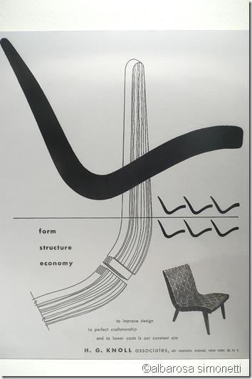 Knoll vintage poster