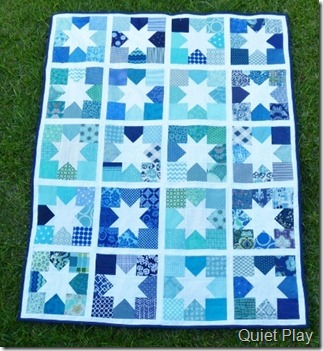 Charming Stars do.good Stitches January quilt
