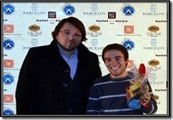 Simao Pintor vencedor III FIDE Hotel Terço - Barcelos