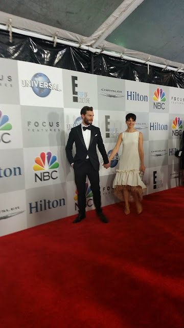 Jamie Dornan at the 2015 Golden Globes NBC After Party