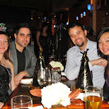 new years dinner in Collingwood, Ontario, Canada