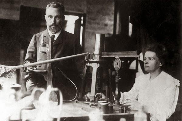 Pierre e Marie Curie