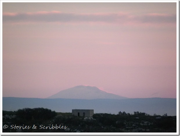Etna - from our balcony (2)
