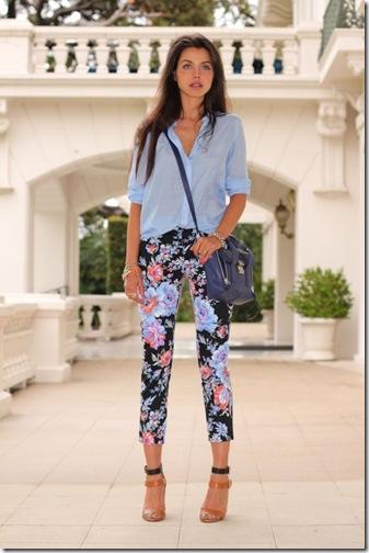 floreal pants